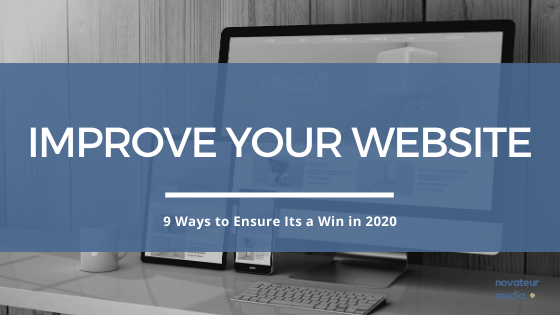 9 Ways to Improve Your Website for 2020