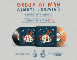 7″ vinyl release for Group Of Man's 'Always Looming'