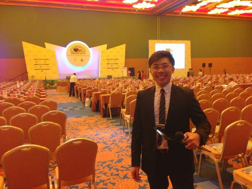 SIBCON 2012 Convention Conference Seminar | Corporate Formal Emcee in Singapore