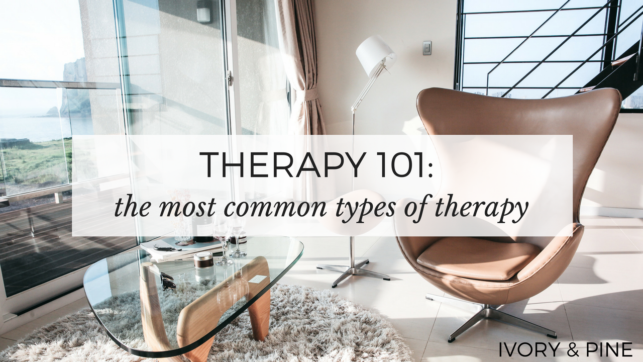 The Most Common Types of Therapy