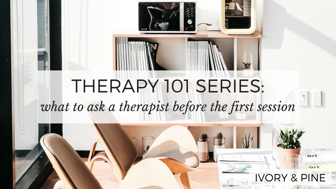 What to Ask a Therapist Before Your First Session