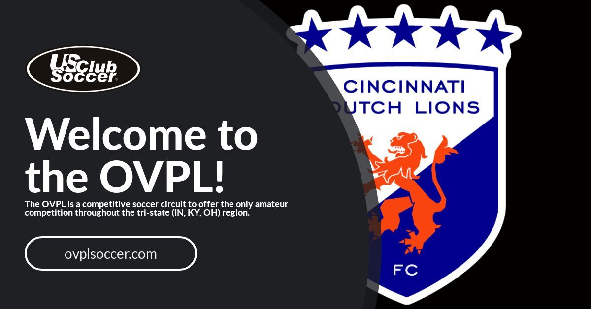 Cincinnati Dutch Lions FC joins the OVPL for 2020!