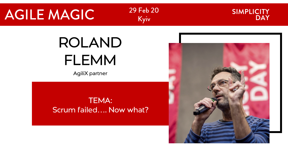 Roland Flemm (AgiliX partner) - Scrum failed…. Now what?