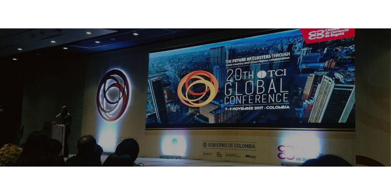 CLÚSTER EN THE 20TH GLOBAL CONFERENCE OF TC