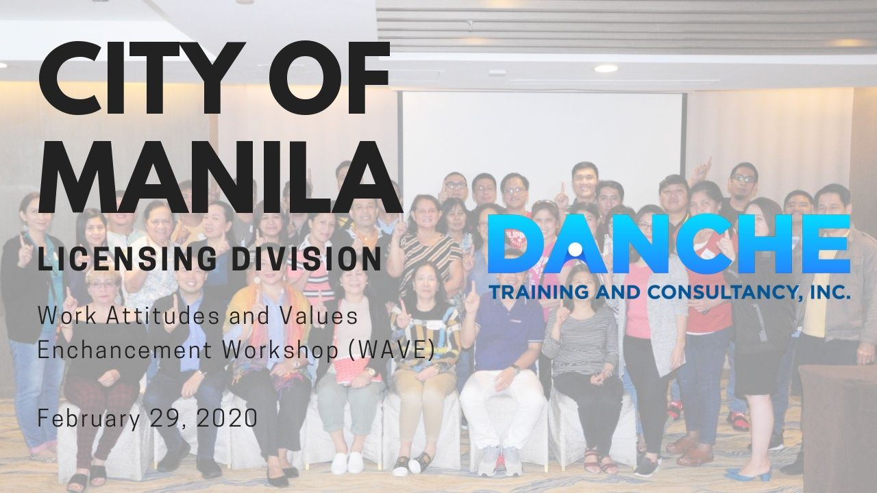 City of Manila had a WAVE workshop with us