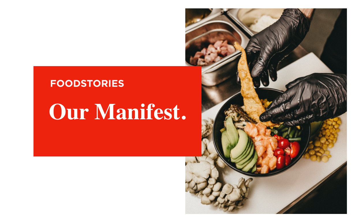 FoodStories Manifest