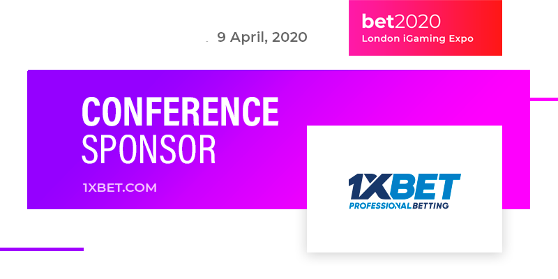 International bookmaker 1XBET become a sponsor of BET2020 Online Conference