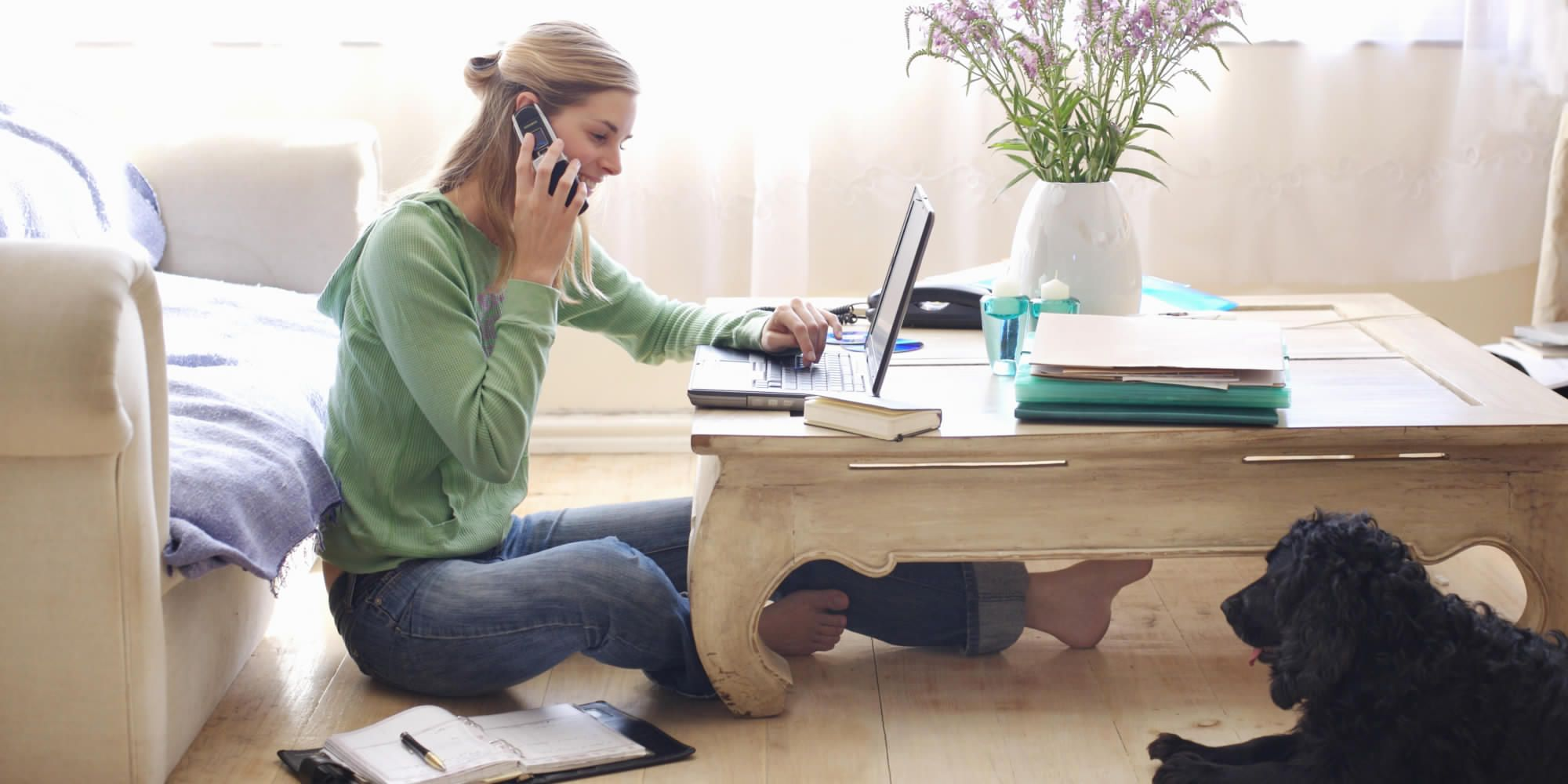 Five Advantages of Letting Your Employees Work From Home