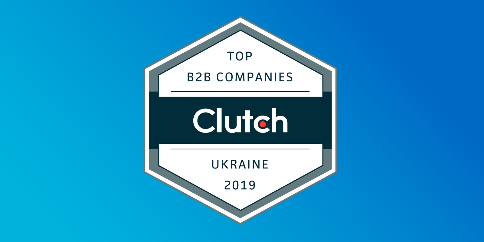 Top Ukrainian B2B company Award
