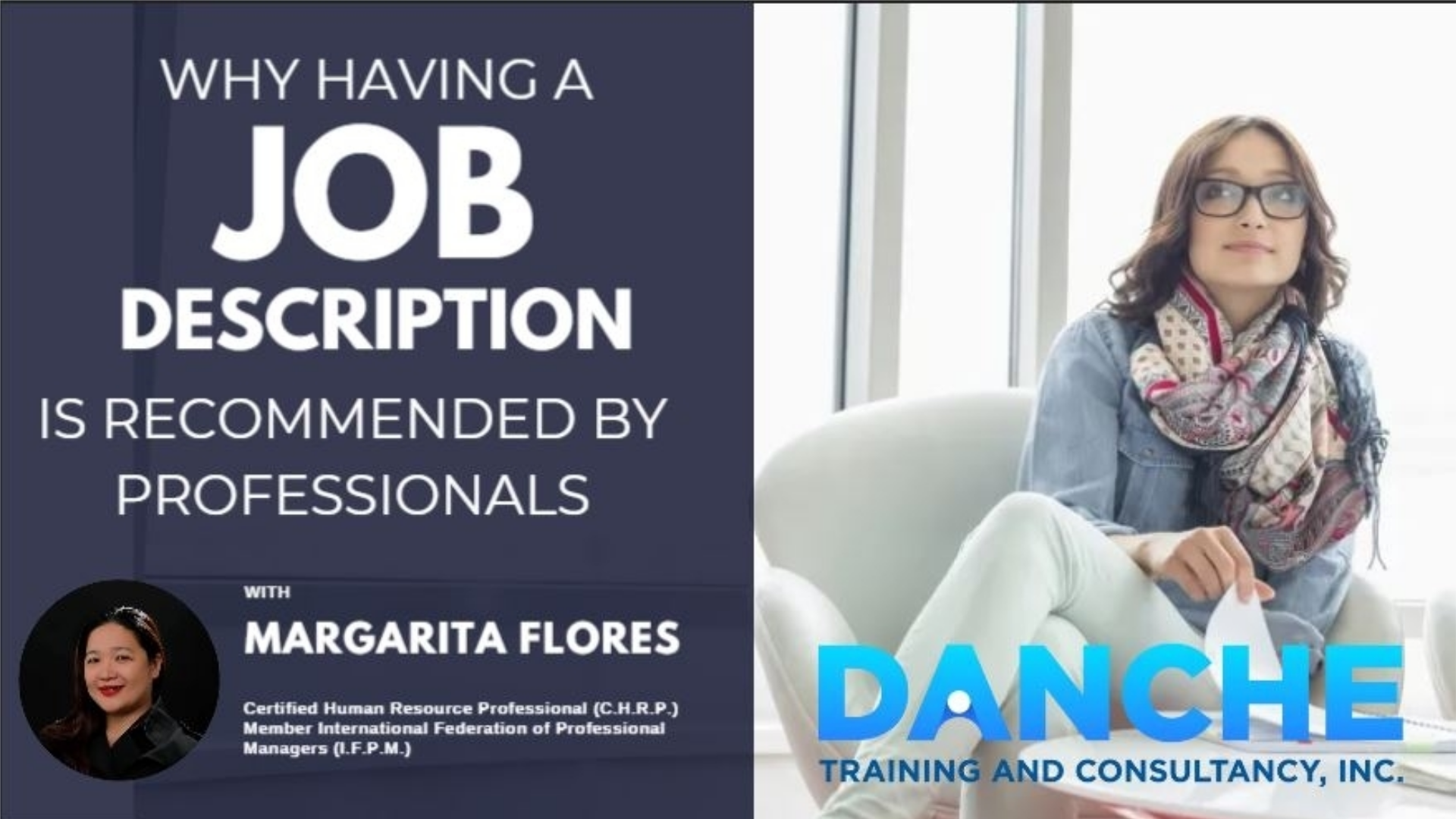 Why having a Job Description is recommended by professionals