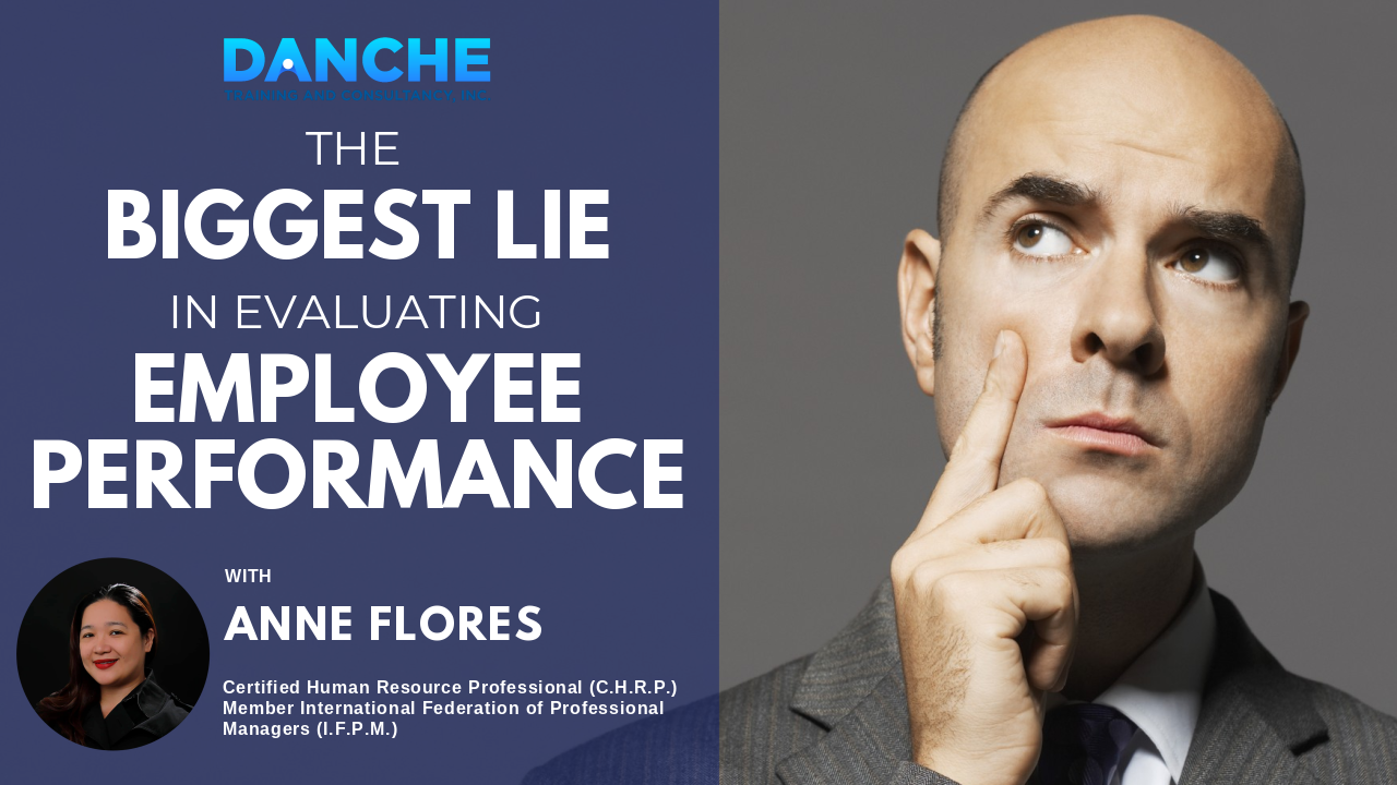 The BIGGEST LIE in evaluating EMPLOYEE PERFORMANCE
