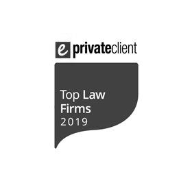 We are named as one of the 2019 eprivateclient Top UK Law Firms