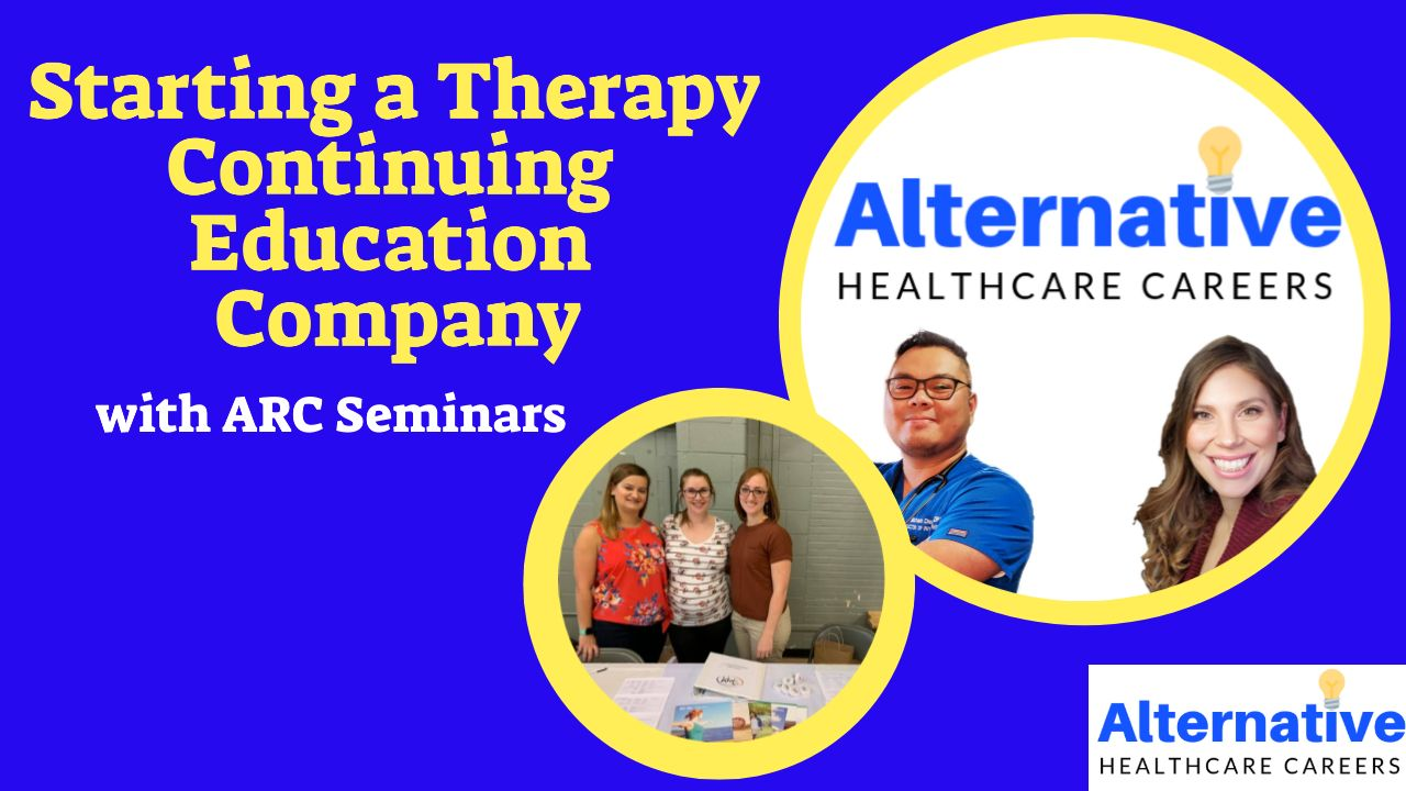 Starting a Therapy Continuing Education Company: ARC Seminars