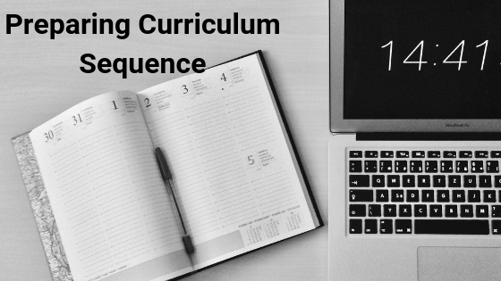 Preparing Curriculum Sequencing