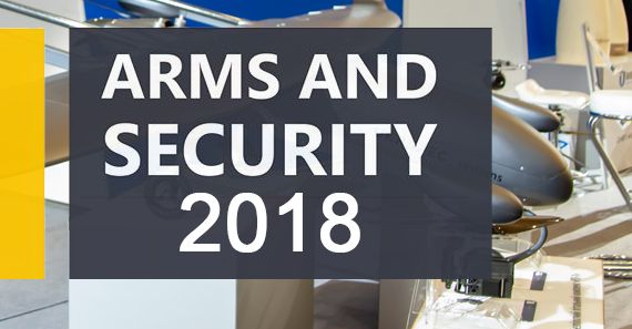 Arms and Security 2018 Exhibition in Kyiv