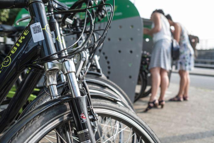 Eigen fietsbox en deelfietsen voor bedrijven.