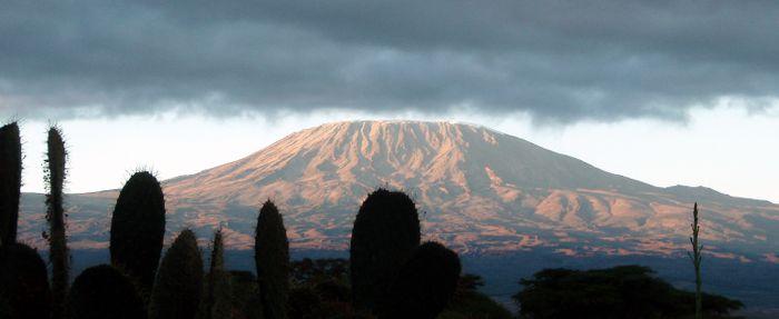 Amboseli - Vistas del Kilimanjaro