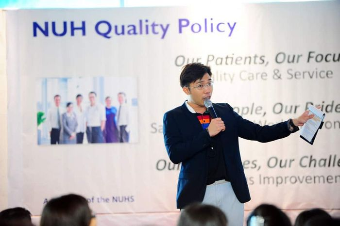 NUH Quality Policy Roadshow | Emcee in Singapore Melvin Ho | EmceeMelvin.com | Welcome