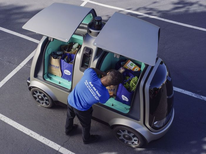 Nuro self-driving vehicle