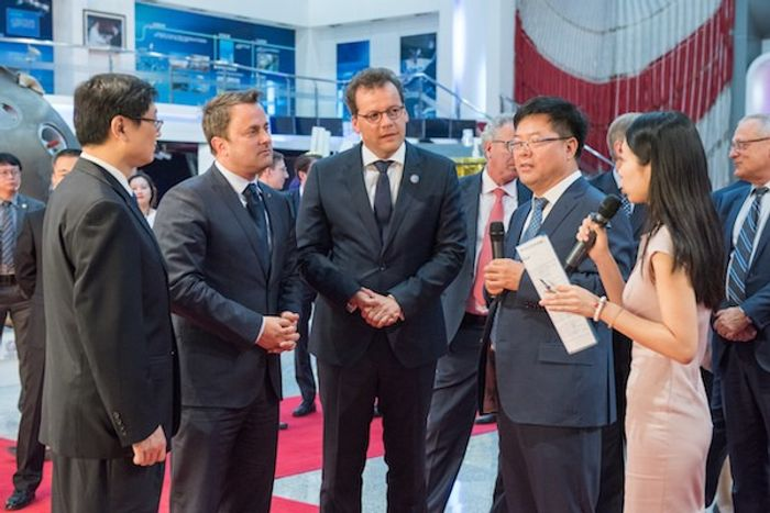 Люксембурзька делегація відвідує Академію космічних технологій в КНР