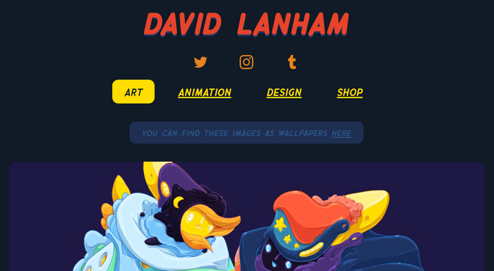 веб-сайт:https://dlanham.com/