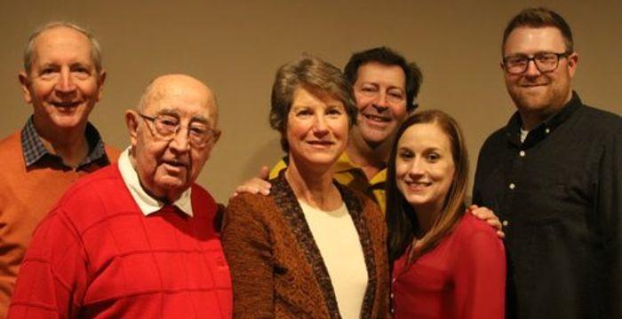 Tom McKnight (Dr. McKnight's Brother), Cecil McKnight (Dr. McKnight's Father), Evie McKnight (Dr. McKnight's sister in law), Jamie Kuss (Dr. McKnight's Niece),  and Brandon Kuss (Dr. McKnight's Nephew in law)