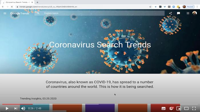 Видео: Как использовать статистику о коронавирусе в Google Trends