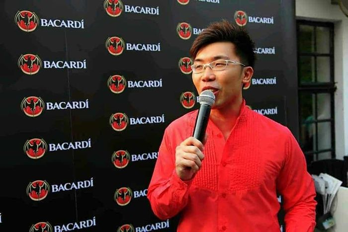 Bacardi Singapore Cocktail Search | Product Launch Media Launch Emcee Singapore | Melvin Ho | Bacardi Logos