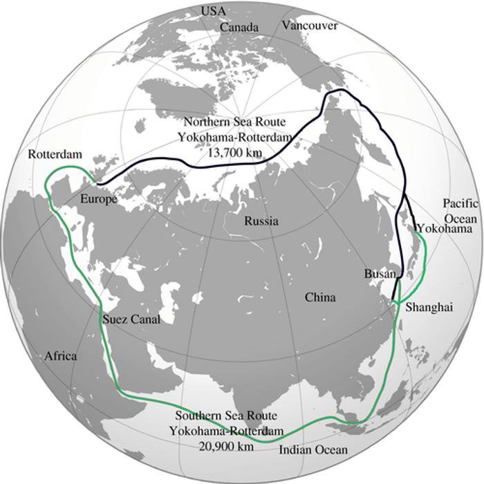 Північний та Південний морські шляхи