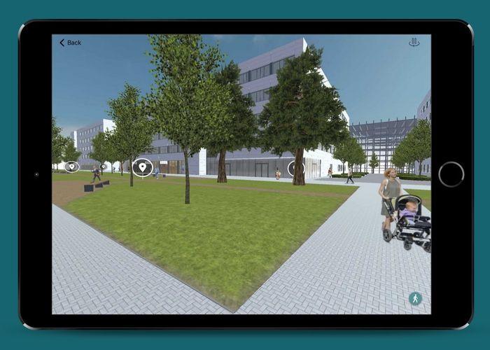 Virtueller Rundgang über den Siemens Campus Erlangen