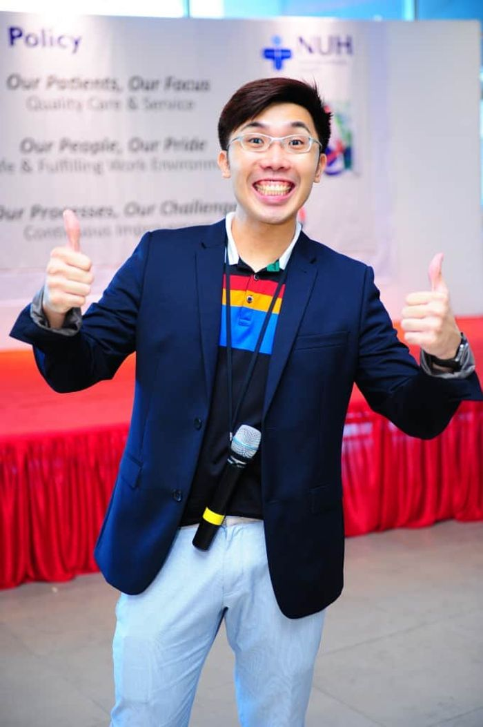 NUH Quality Policy Roadshow | Emcee in Singapore Melvin Ho | EmceeMelvin.com | Happy Melvin