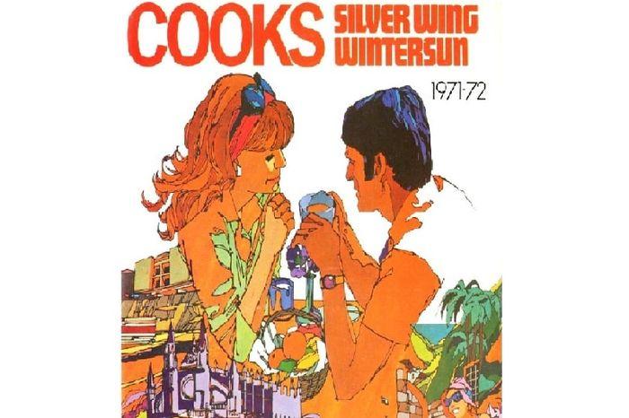 Рекламная компания туров на Майорку 1972 года. Плакат Томас Кук