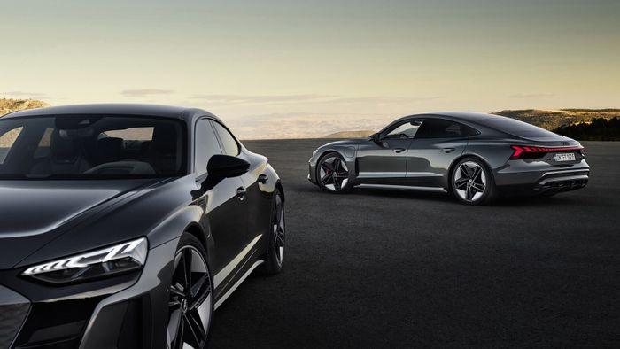 Audi e-tron GT quattro и RS e-tron GT: сочетание роскоши и спортивных характеристик