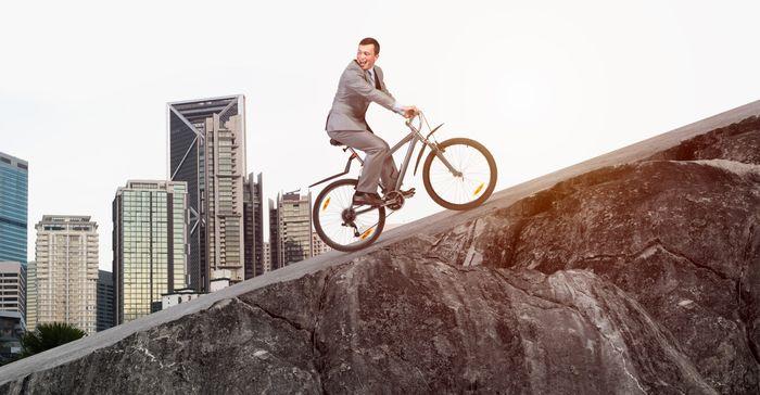Steile hellingen vragen een ander type fiets.