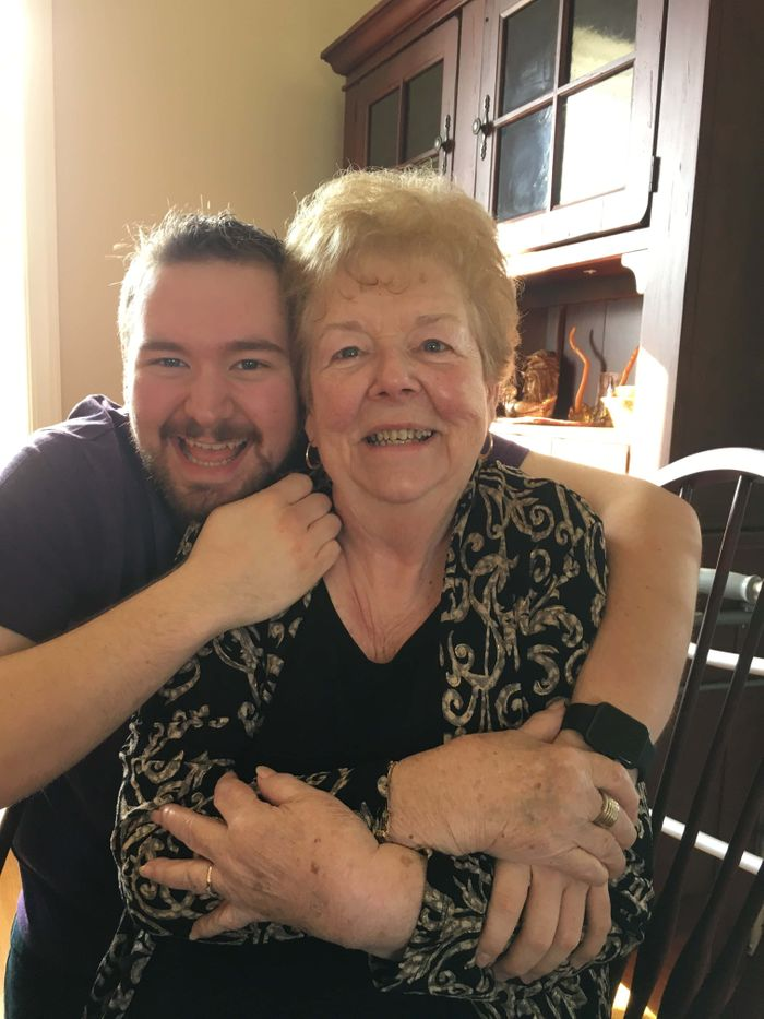 Matt and his grandmother, June