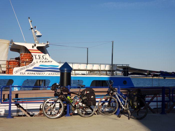 En el Puerto de Ayamonte
