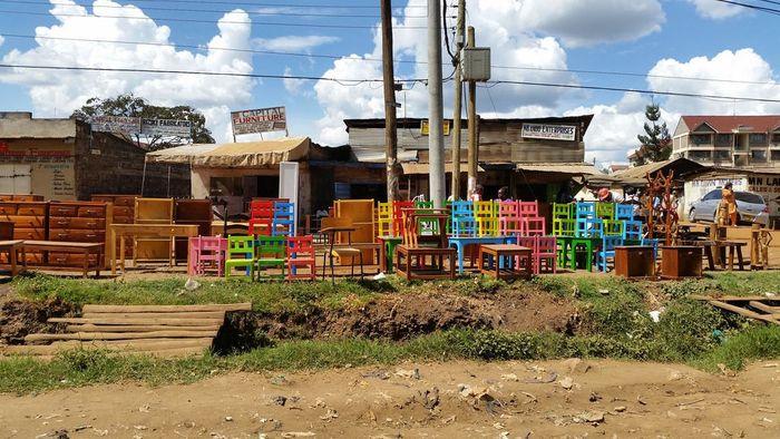 A furniture hub in Nairobi, Kenya. Image source:http://www.kenyanmoments.com/ngong-road-furniture-heaven/