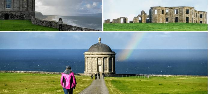 Irlanda del Norte - Downhill Demesne y el Templo de Mussenden