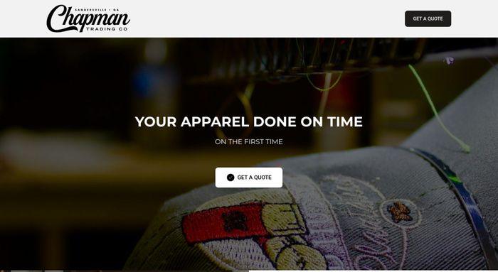 пример красивого сайт созданного на weblium.com