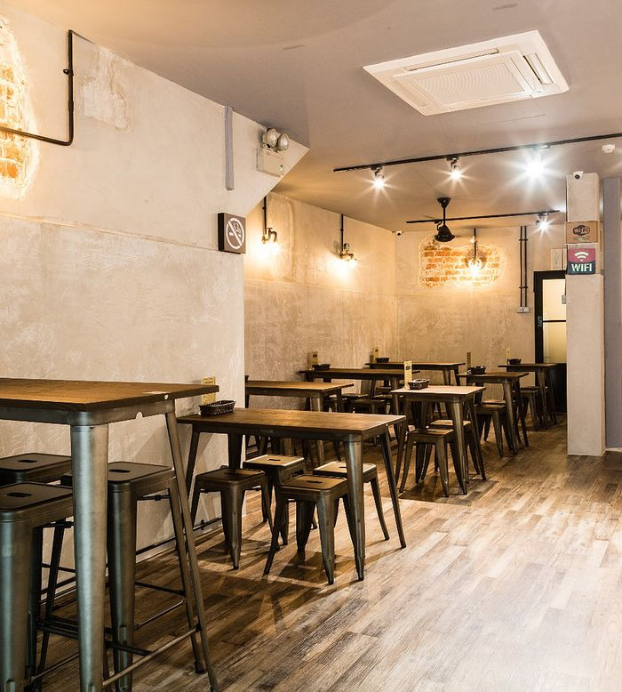 By nightfall, 91PP becomes a chill-out bistro for friends and family to unwind and relax