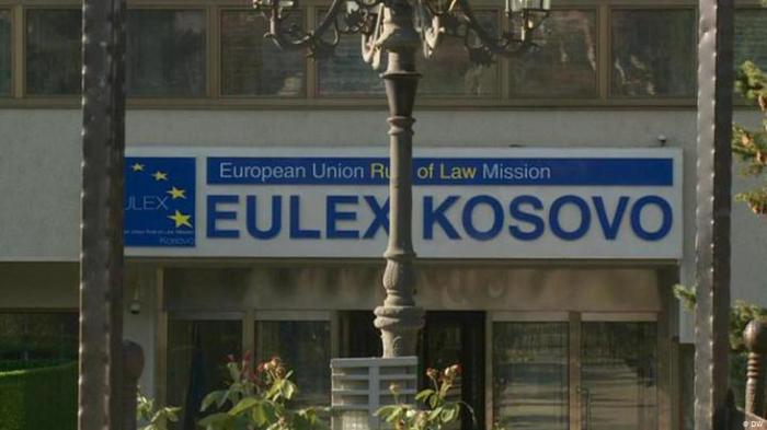 Штаб-квартираEULEXу Приштині, столиці Косова. ФотоDW