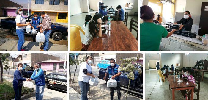 Acción conjunta con la Municipalidad de Lima en la Casa de la Mujer SJL