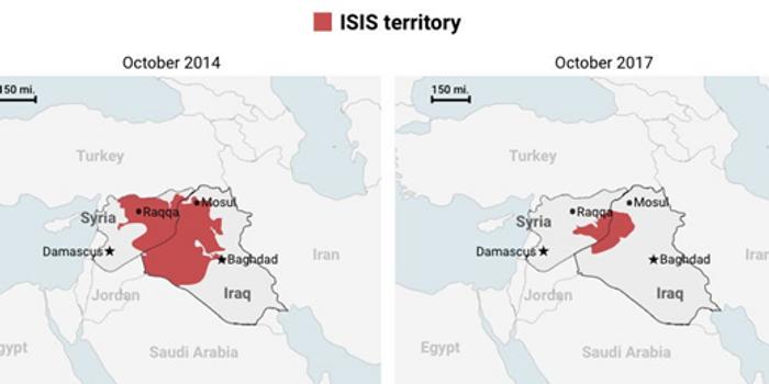 Територія ІДІЛу – терористи утворили свою державу в серці колись могутнього Арабського халіфату
