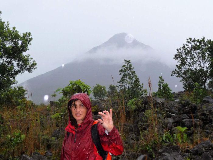 Volcán Arenal - ¿Qué importa mojarse?