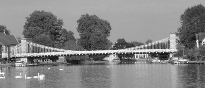Marlow's suspension bridge