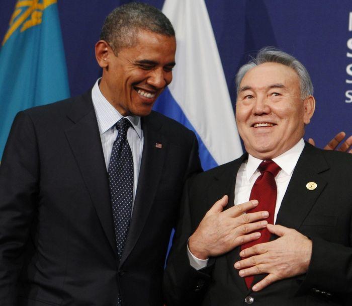 Зустріч Барака Обами та Нурсултана Назарбаєва