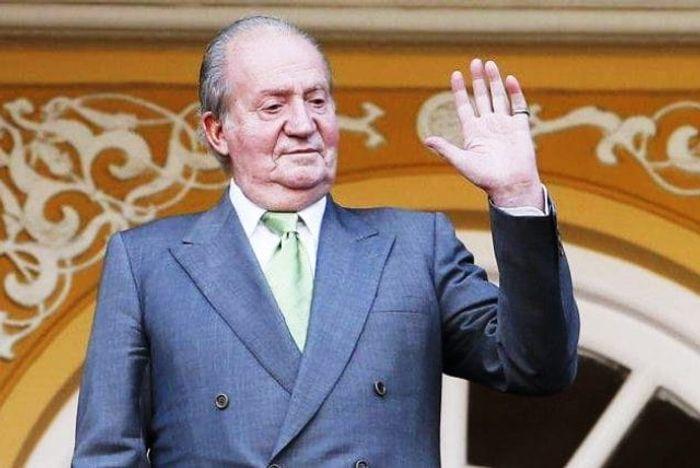 Экс король Испании Хуан Карлоса I фото