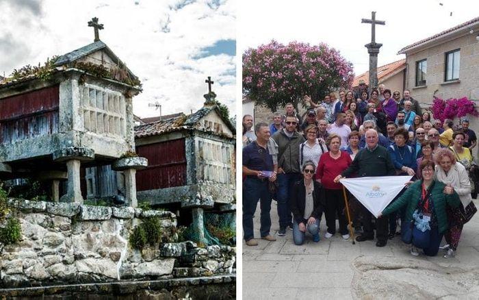 COMBARRO Y SUS HÓRREOS. Pueblo precioso de Galicia