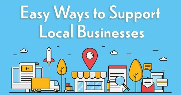 Let's look at ways to support local business!!