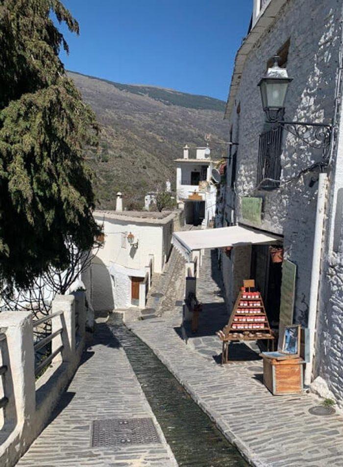 Calle del Agua en Capileira
